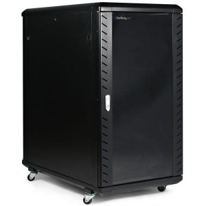 StarTech.com 22U 36in Knock-Down Server Rack Cabinet with Casters