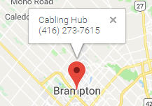 Network Cabling Installation Services Brampton, ON