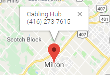 Network Cabling Installation Services Milton, ON